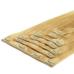 Clip In Extensions 50cm 70g 613 Extra Helles Blond-0