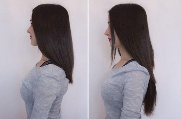 "Flip in Hair Extensions 16"" 140g - Premium-674"