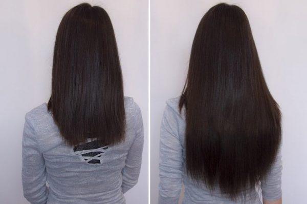 "Flip in Hair Extensions 16"" 140g - Premium-672"