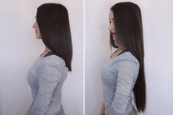 "Flip in Hair Extensions 22"" 160g - Premium-635"