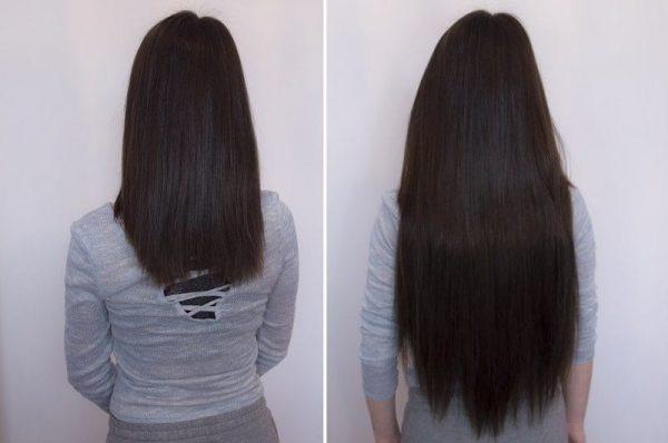 "Flip in Hair Extensions 22"" 160g - Premium-633"
