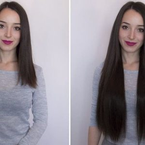 "Flip in Hair Extensions 22"" 160g - Premium-0"