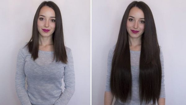 "Flip in Hair Extensions 22"" 160g - Premium-0"