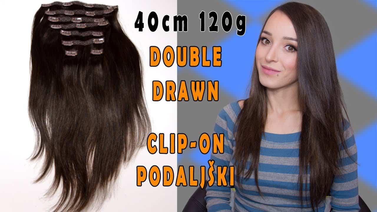 Premium Clip-in extensions 40cm 120g