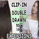 Premium clip-in extensions 50cm 160g